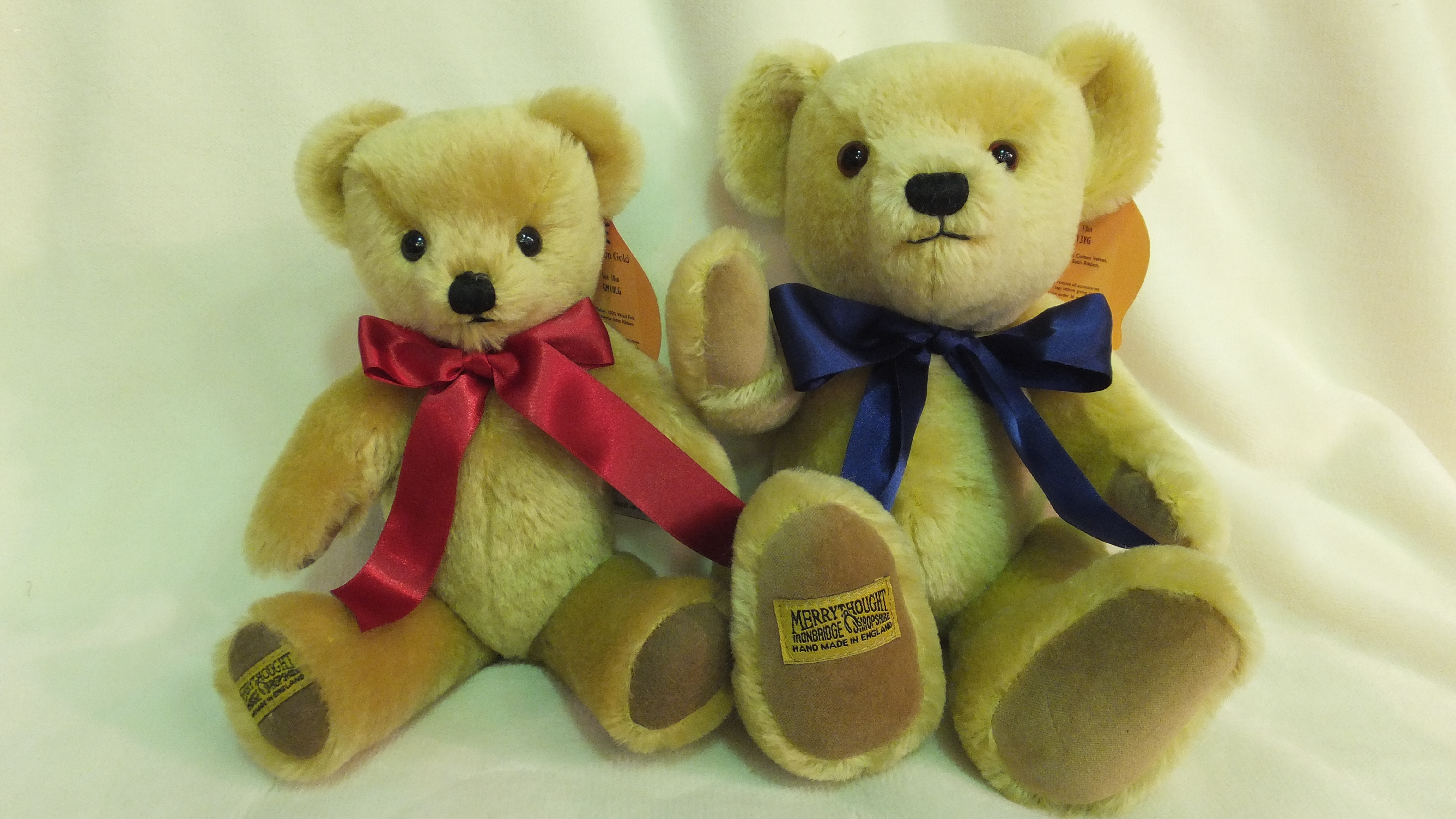 英国公司的泰迪熊【MERRYTHOUGHT/许愿骨】的图像