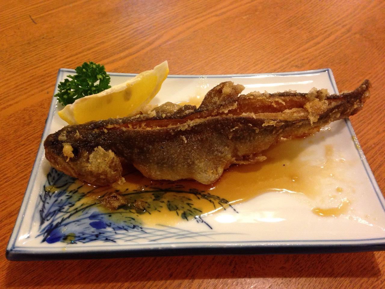 岩魚のカラアゲ