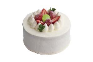 蛋糕、鲜奶油、乳蛋糊、草莓、果子露・・・  各种食材的绝妙搭配。