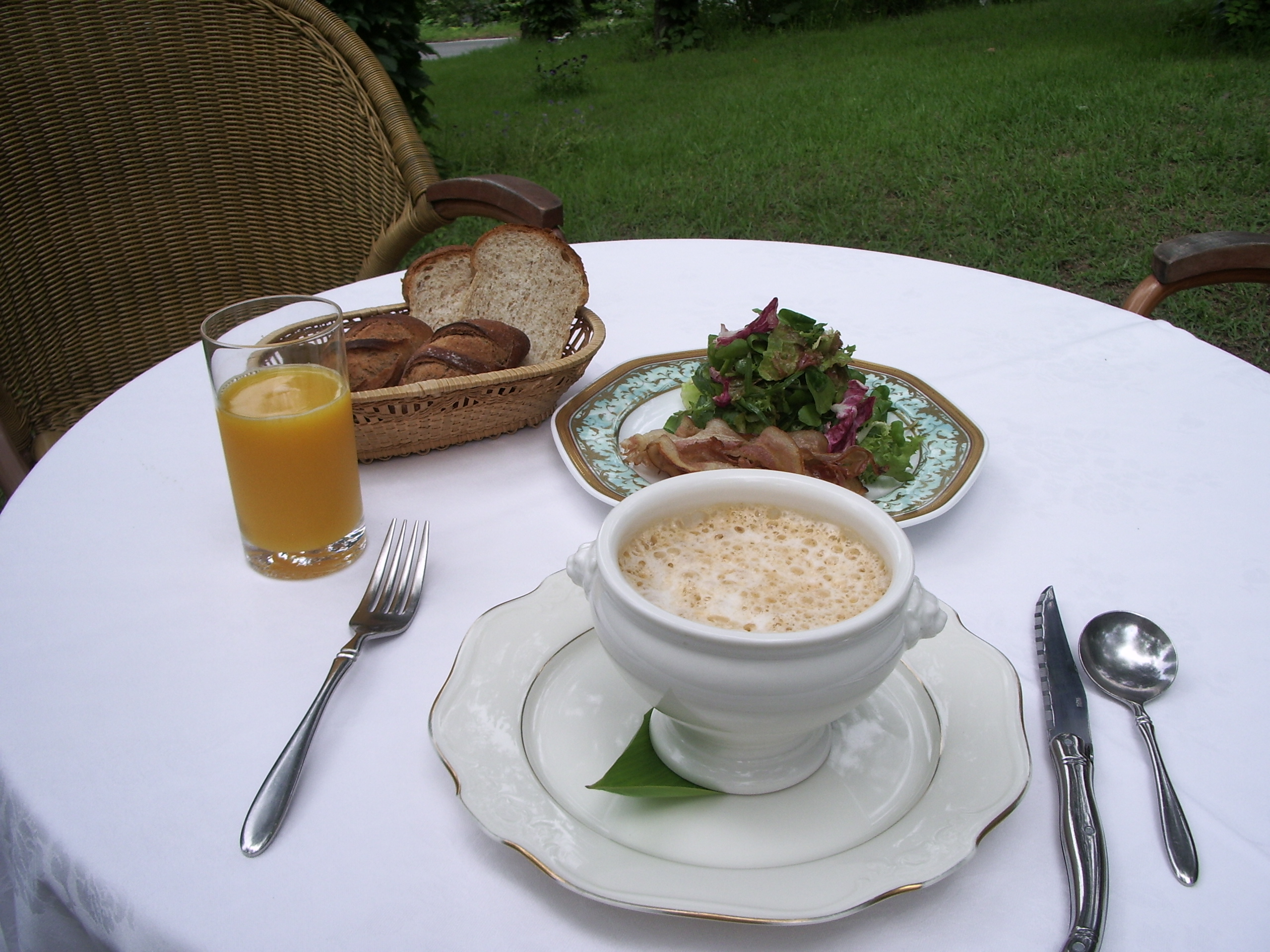 エスポワール朝食